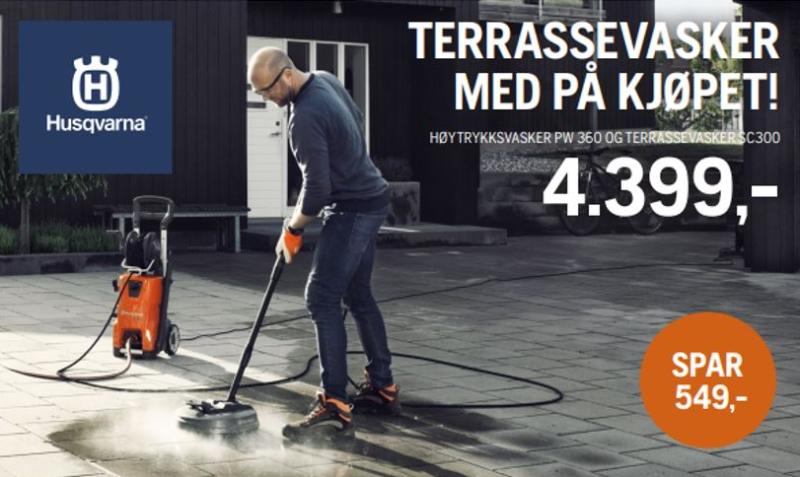 Kampanje på Høytrykksvasker